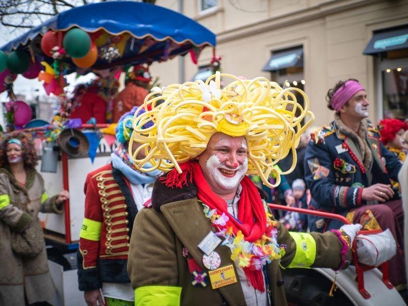 Optocht carnaval Duitsland